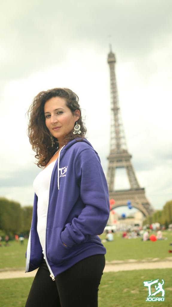 Capoeira-Paris-Femme-sweat-shirt
