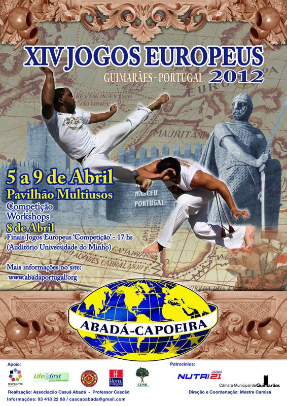 Jeux Européens ABADA-Capoeira 2012 au Portugal