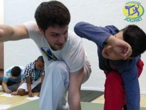 capoeira pour enfants a paris 18eme.